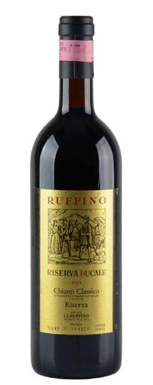 1985 Ruffino Chianti Classico Riserva Ducale Gold Label