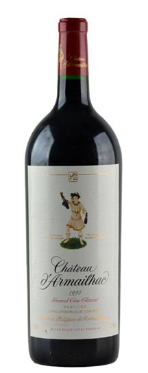 1992 d'Armailhac Bordeaux Blend