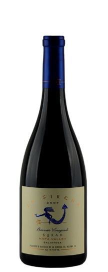 2007 Sirena, La Syrah Barrett Vineyard