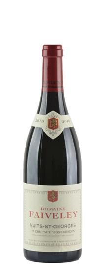 2010 Faiveley Nuits St Georges les Vignerondes Premier Cru