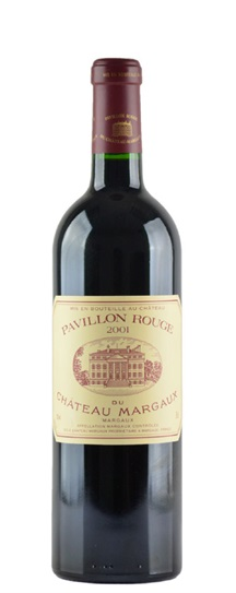2001 Margaux, Pavillon Rouge du Chateau Bordeaux Blend