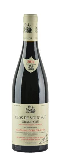 2011 Guillon, Domaine Jean Michel Clos de Vougeot