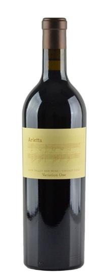 2001 Arietta Variation One (Syrah / Merlot)