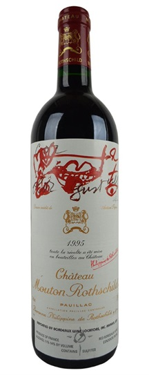 1995 Mouton-Rothschild Bordeaux Blend