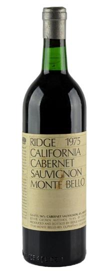 1996 Ridge Monte Bello