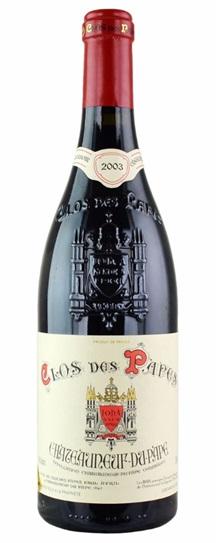 2003 Clos des Papes Chateauneuf du Pape