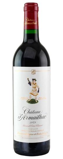 1990 d'Armailhac Bordeaux Blend