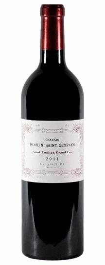 2011 Moulin St Georges Bordeaux Blend