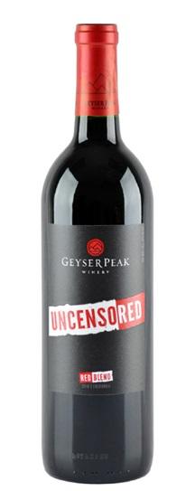 2010 geyser peak Uncensored Red