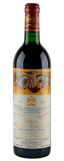 1986 Mouton-Rothschild Bordeaux Blend