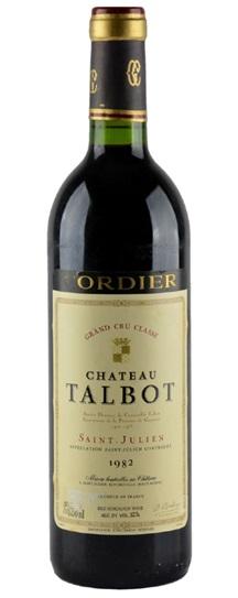1982 Talbot Bordeaux Blend