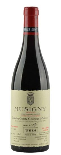 1998 Comte de Vogue Musigny Vieilles Vignes