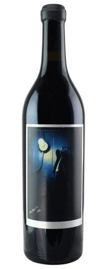 2001 Sine Qua Non Midnight Oil (Syrah)