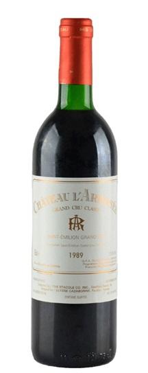 1989 Arrosee, L' Bordeaux Blend