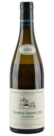2009 Christian Moreau & Fils Chablis Valmur