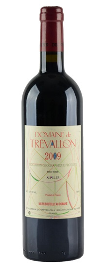 2009 Trevallon, Domaine de Vdp des Bouches du Rhone
