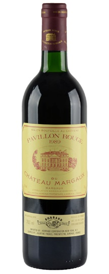 1989 Margaux, Pavillon Rouge du Chateau Bordeaux Blend