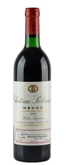 1986 Potensac Bordeaux Blend