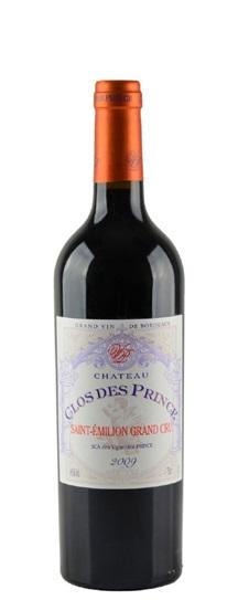 2009 Clos de Prince Bordeaux Blend