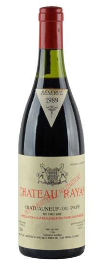 1995 Rayas, Chateau Chateauneuf du Pape