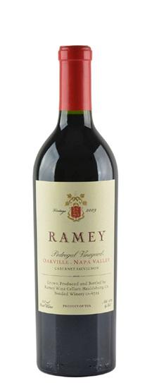 2009 Ramey Cabernet Sauvignon Pedregal Vineyard