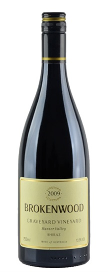 2009 Brokenwood Shiraz Graveyard Vineyard