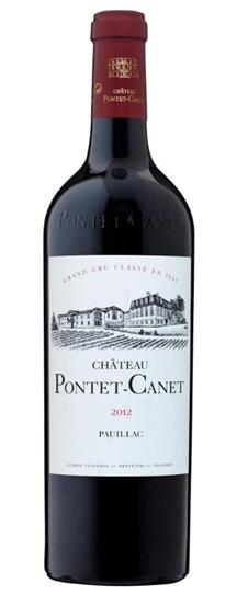2012 Pontet-Canet Bordeaux Blend