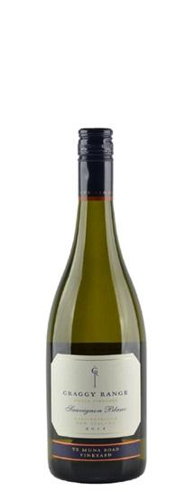 2012 Craggy Range Sauvignon Blanc Te Muna Road Vineyard