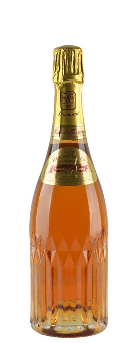 Diamant rose champagne