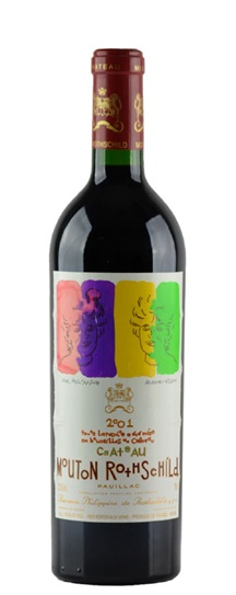 2003 Mouton-Rothschild Bordeaux Blend