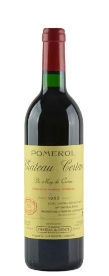 1993 Certan de May Bordeaux Blend