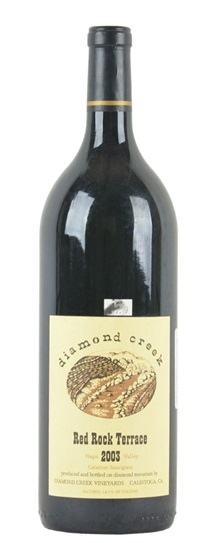 2003 Diamond Creek Cabernet Sauvignon Red Rock Terrace
