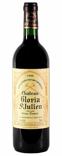 1998 Chateau Gloria St. Julien