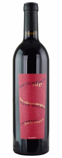 2006 Switchback Ridge Cabernet Sauvignon Peterson Family Vineyard