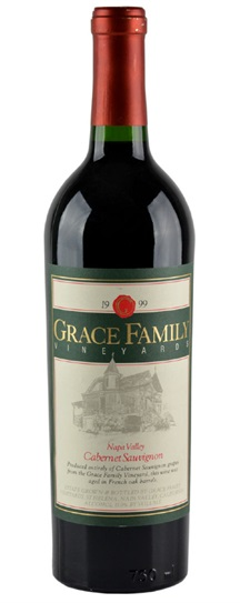 1999 Grace Family Vineyard Cabernet Sauvignon