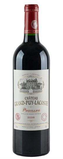 2008 Grand-Puy-Lacoste Bordeaux Blend