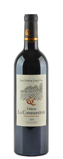 2000 La Commanderie Bordeaux Blend