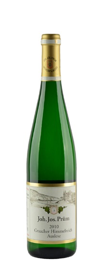 2010 Prum, Joh Jos Riesling Auslese Graacher Himmelreich Gold Capsule