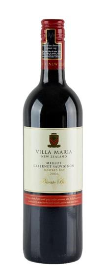 2006 Villa Maria Merlot-Cabernet Private Bin