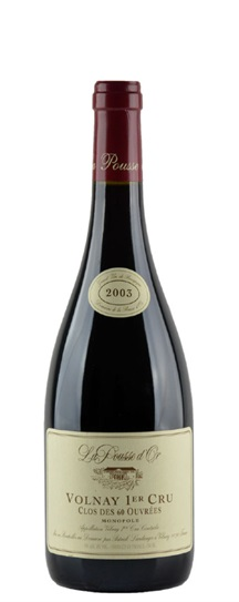 2003 Domaine de la Pousse d'Or (Gerard Potel) Volnay Clos des 60 Ouvrees