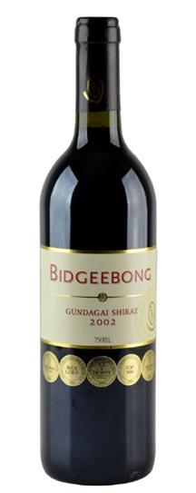 2002 Bidgeebong Gundagai Shiraz