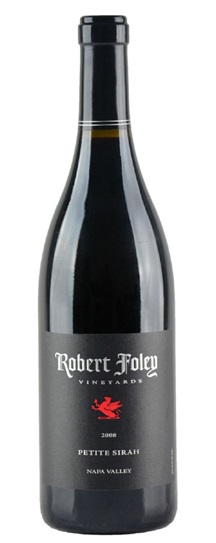 2008 Robert Foley Vineyards Petite Sirah