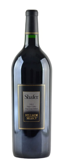 2003 Shafer Vineyards Cabernet Sauvignon Hillside Select