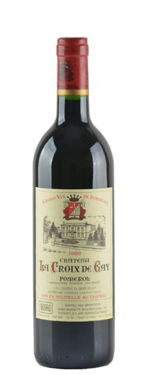 1989 La Croix de Gay Bordeaux Blend