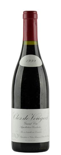 1999 Leroy, Domaine Clos de Vougeot