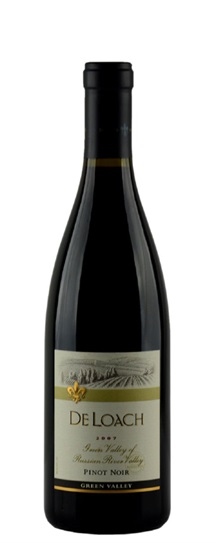 2007 De Loach Pinot Noir Green Valley