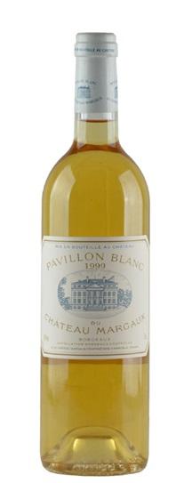 1999 Margaux, Pavillon Blanc du Chateau Bordeaux Blanc