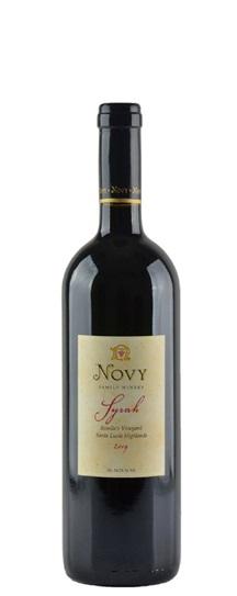 2009 Novy Family Wines Syrah Rosellas Vineyard
