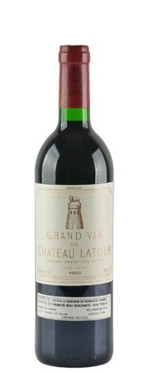 1990 Latour, Chateau Bordeaux Blend
