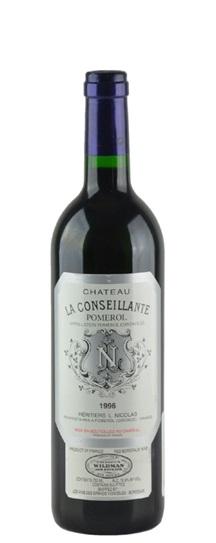 1996 Conseillante, La Bordeaux Blend